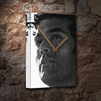 SENDHIL RAMAMURTHY - キャンバス時計(LARGE A3 - アーティストによる署名入り) #js001