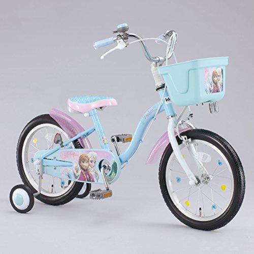 幼児車 アナと雪の女王 16型 ブルー ...