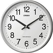 CITIZEN シチズン 掛け時計 電波時計 サークルポート 白 4MYA24-019