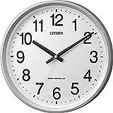 CITIZEN ( シチズン ) 電波 掛け時計 サークルポート 見やすい オフィス タイプ ホワイト 4MYA24-019