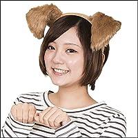 カチューシャわんわん犬耳(干支?犬?戌)  29806