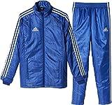 アディダス adidas SHADOW 中綿 ウォーマージャケット&パンツ トレーニングウェア 上下セット メンズ S (身長 162-168cm) 国内正規品 BQK70 × BQK71 パワーブルー