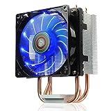 ENERMAX CPUクーラー 9cm サイドフロータイプ ブルーLED ETS-N30R-TAA