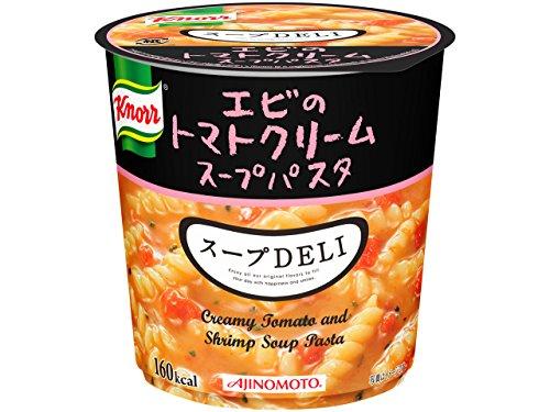 味の素 クノールスープDELIエビのトマトクリームスープパスタ(容器入) 41.2g