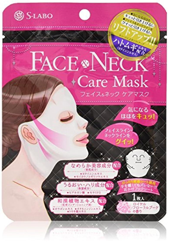 味方ロゴ忠誠S-LABO フェイス & ネックケアマスク (1枚入)