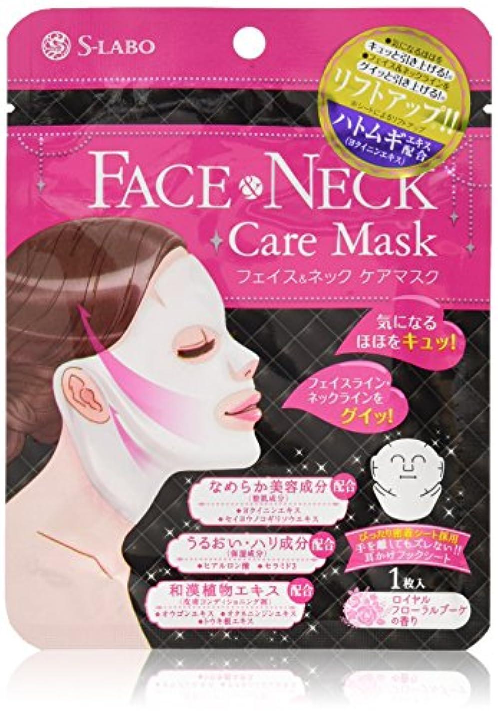 アンテナいつでも健全S-LABO フェイス & ネックケアマスク (1枚入)