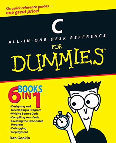 Download C All-in-One Desk Reference For Dummies (For Dummies Series) 0764570692