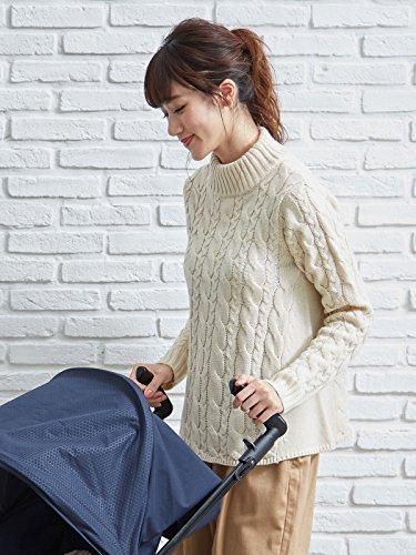 [해외]cote cotte (코토콧토) 케이블 니트 긴팔 친자 페어 허용 가을 겨울 산후 여성/cote cotte (Kotkot) Cable knit long sleeve parent and child pair possible Fall Winter Postwomen Ladies