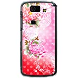 CaseMarket 【ポリカ型】 au AQUOS PHONE SL IS15SH ポリカーボネート素材 ハードケース [ 和柄 菊と水玉 ]