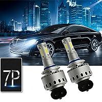 Ralbay(レルデイ) 車検対応 HB3/9005 LEDヘッドライトバルブ 160W 12000LM 6000Kホワイト 高輝度COBチップ 2本セット 1年保証付き