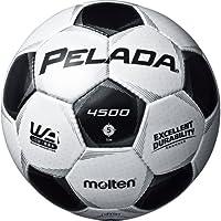 molten(モルテン) ペレーダ4500 サッカーボール 5号球 シャンパンシルバー×メタリックブラック F5P4501 シャンパンシルバー