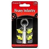 CRESCENDO 耳栓 工事 工場 作業用 騒音軽減 イヤープロテクター Heavy Industry 25