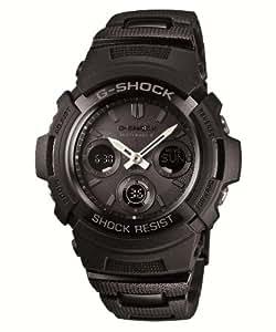 [カシオ]CASIO 腕時計 G-SHOCK ジー・ショック BLACK/BLUE ブラック/ブルーシリーズ 世界6局対応電波ソーラーウォッチ    AWG-M100BC-1AJF メンズ