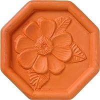 jbk daisy terra cotta brown sugar saver by jbk pottery jbk pottery