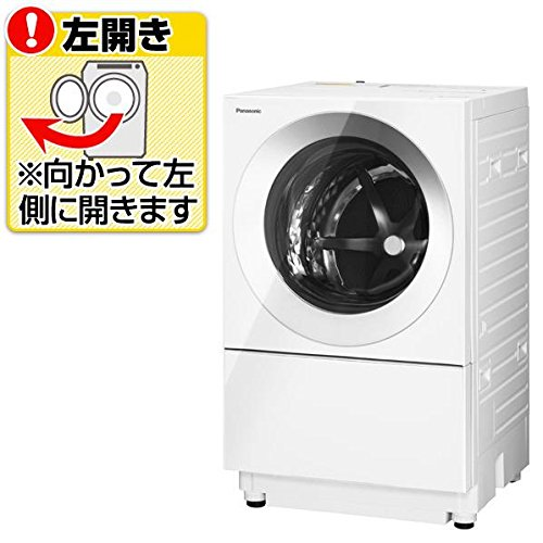 RoomClip商品情報 - パナソニック 【左開き】7.0kgドラム式洗濯機(3.0kg乾燥付き) Cuble シルバー NA-VG700L-S