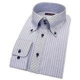 (セシール)cecile 形態安定デザインYシャツ(長袖) JY-594 798 D 41-84