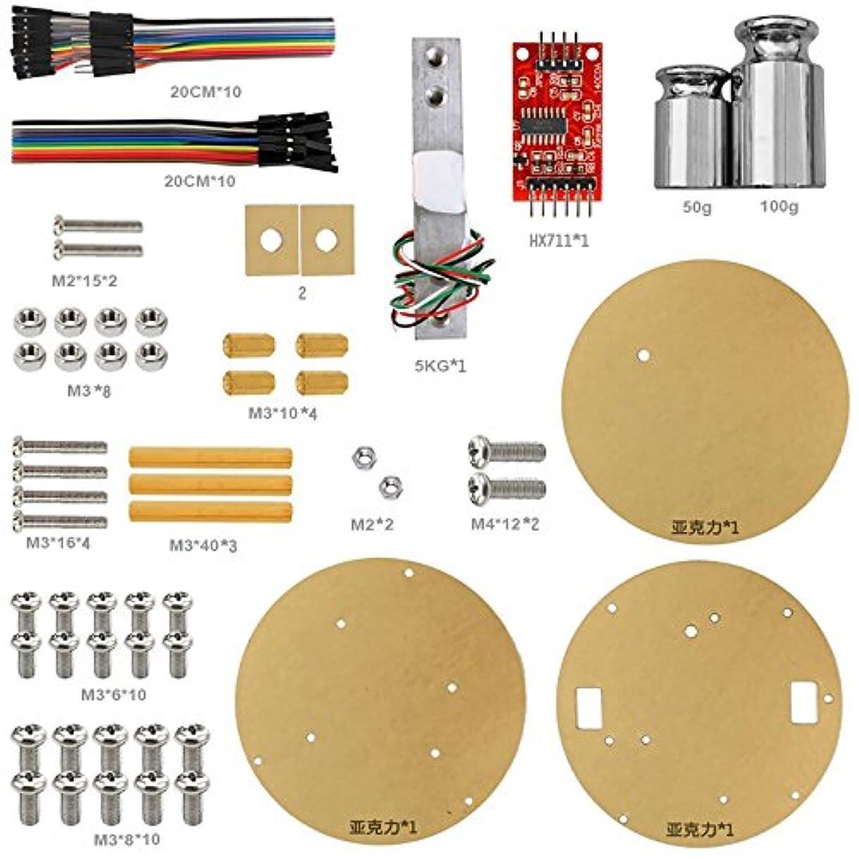 ゆるく好奇心他の日Gikfunスケールキット5 kg DIY電子計量スケールキットfor Arduino Precisionジュエリー電子スケールek1867