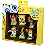 Penn Plax 6-Piece Spongebob Squarepants Mini Set