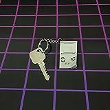 NINTENDO(任天堂) ゲームボーイ 3Dメタルキーリング/キーホルダー [並行輸入品]