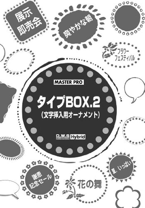 持ってる副産物練るタイプBOX.2(文字挿入用オーナメント)