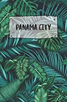 Panama City: Ruled Travel Diary Notebook or Journey  Journal - Lined Trip Pocketbook for Men and Women with Lines