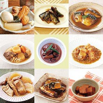 レトルト おかず 和食 煮物 惣菜 12種類セット(ロングラ...
