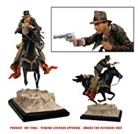 Gentle Giant Studios - Indiana Jones on Horse 28cm Statue [並行輸入品]