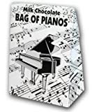Belgian Milk Chocolate Bag Of Pianos - 100g / ベルギー・ミルクチョコレート ピアノ・バッグ - 100g