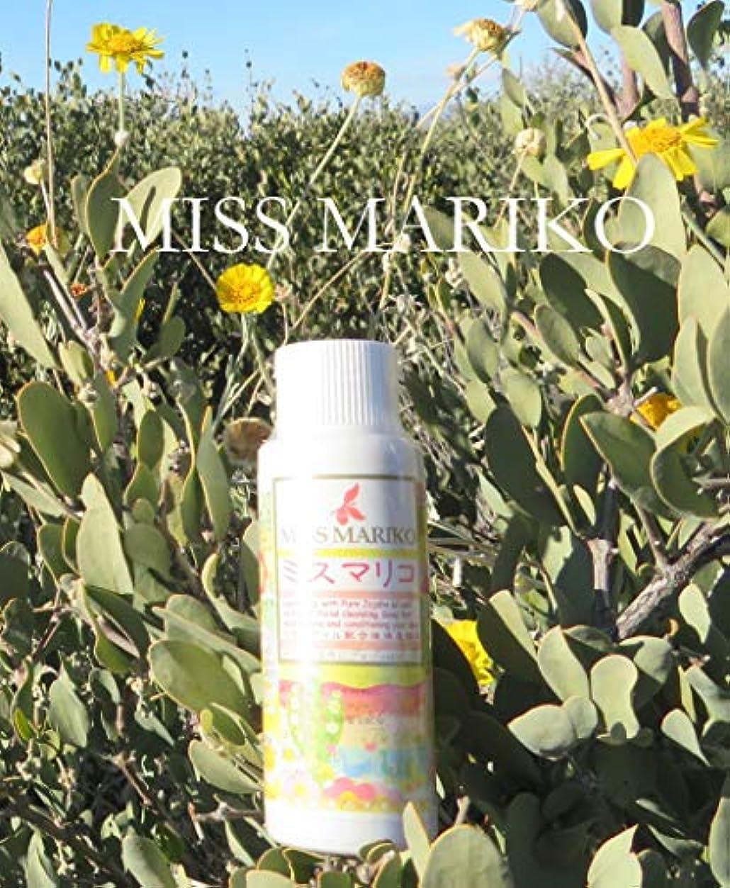 一節冬まっすぐにするミスマリコ MISS MARIKO 液体洗顔料