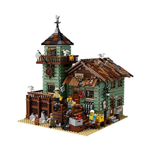 レゴ(LEGO) アイデア つり具屋 21310の紹介画像2