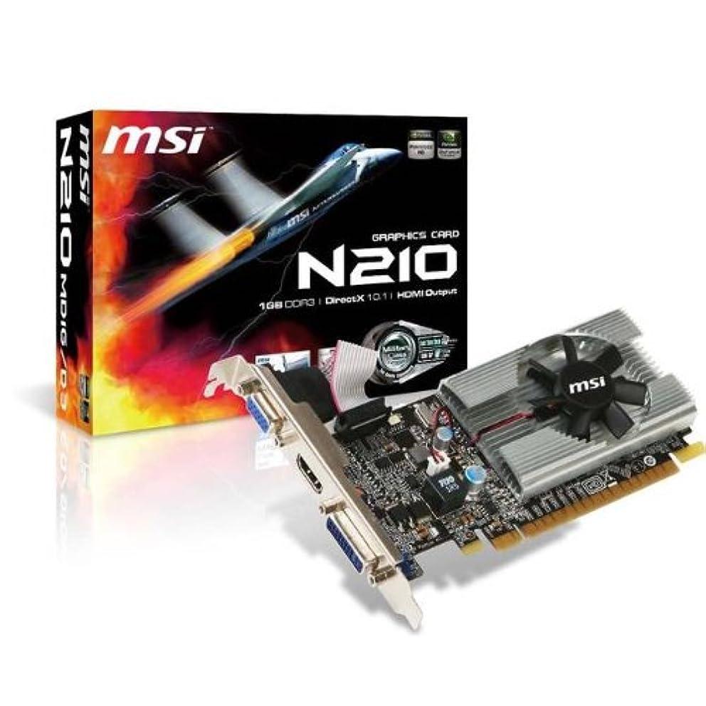 クリーナー倉庫評判MSI MSI NVIDIA GeForce 210 1 GB gddr3 VGADVIHDMIロープロファイルPCI - Expressビデオカード/ n210-md1g / d3 /