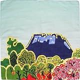 ふろしきや 風呂敷 桜に富士(45cm 綿100%)