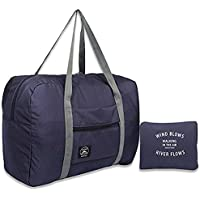 Foldable Lightweight Duffle Bag Waterproof Travel Storage Luggage Tote Bag for Women and Men