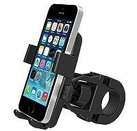 Ruikey 自転車ホルダー バイクスマホホルダー GPSナビ 強力固定 360度回転 Android/iPhone多機種対応