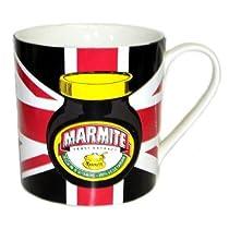 英国Marmite(マーマイト) マーマイト・ユニオンジャックマグカップ レッド 【並行輸入品】