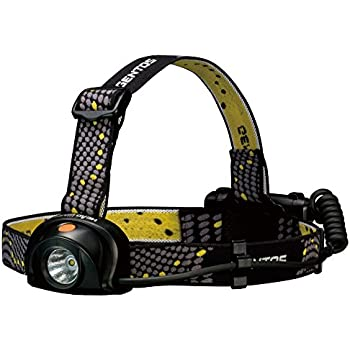 GENTOS(ジェントス) LED ヘッドライト 【明るさ200ルーメン/実用点灯10時間/防滴】ヘッドウォーズ HW-888H ANSI規格準拠 停電時用 明かり 防災
