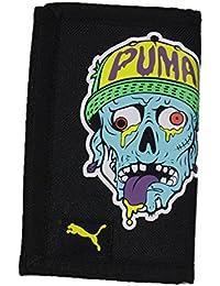 [プーマ] PUMA 財布 ゾンビ柄 三つ折り ウォレット 短財布 ハロウィン ホラー 妖怪