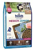 ボッシュ ミディアムジュニア 中型・大型犬種 成長期 仔犬用総合栄養食 全犬種 ハイプレミアム ドッグフード 3kg