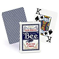 Bee Jumbo Index Playing Cards: Bee Poker Playing Cards with Large Numbers%カンマ% One Dozen Decks [並行輸入品]