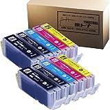【横トナ オリジナル品】BCI-351XL+350XL/5MP×2 5色マルチパックが2セット 増量版 ICチップ付 キヤノン(CANON)【互換インクカートリッジ】 BCI-351+350/5MP 増量版 BCI-351XL(BK/C/M/Y)+BCI-350XL(BK) 対応機種:PIXUS MG5530 / PIXUS MG5430 / PIXUS MX923 / PIXUS iP7230 / PIXUS MG7130 / PIXUS MG6530 / PIXUS MG6330