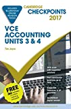 Cover of Cambridge Checkpoints VCE Accounting Units 3&4 2017 and Quiz Me More