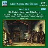 ワーグナー: 楽劇「ニュルンベルクのマイスタージンガー」全曲(カラヤン)(バイロイト祝祭劇場)(1951) 画像
