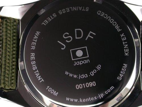 [ケンテックス]Kentex 腕時計 JSDFモデル S455M-01 陸上自衛隊スタンダードモデル メンズ