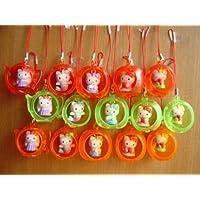 プリンセスキティハウス ストラップ 15種 フルコンプ KITTY 全15種 未開封 ミニブック付 1 白雪姫キティ&