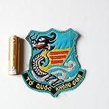 南ベトナム空軍 龍 竜 袖章 パッチ ワッペン エンブレム ベトナム戦争 ナム戦 部隊章 ベトナム共和国軍