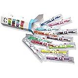 ラピス 子供 歯ブラシ ラピス LA-110 乳幼児 ハッピーカラー12色 セット 単品106