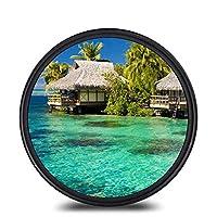 Yourandoll レンズフィルター MC UV レンズ保護フィルター 多層加工 薄枠 紫外線保護 撥水防汚紫外線吸収用 各メーカー対応 (77mm)