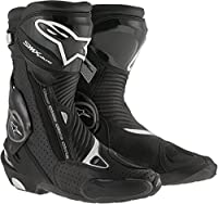 AlpinestarsメンズSMX Plus Vented Boot EU 42 ブラック 3404-1054