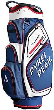 【公式】 PYKES PEAK「パイクスピーク」キャディーバッグ (スタンド式)【軽量 2.2kg/ 6分割口枠/ 9.0 型/ 47インチ対応】(カートタイプ)【軽量 2.4kg/ 14分割口枠/ 9.5 型/ 47イ