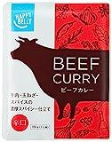 [Amazonブランド]Happy Belly ビーフカレー 辛口 180g×15個